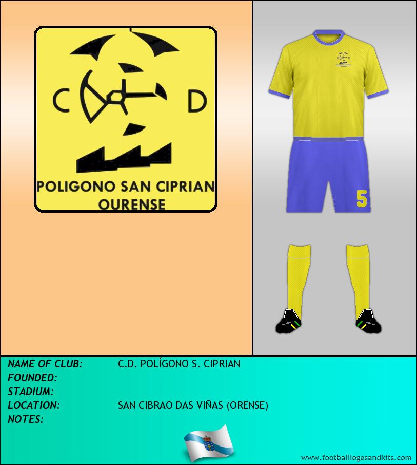 Logo of C.D. POLÍGONO S. CIPRIAN