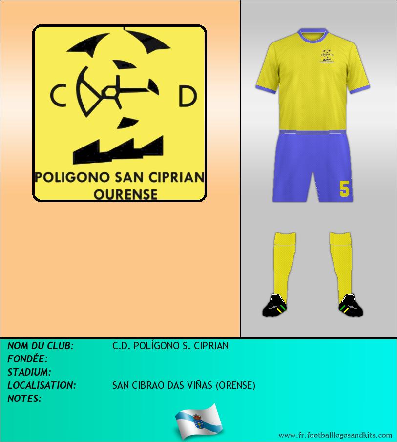 Logo de C.D. POLÍGONO S. CIPRIAN