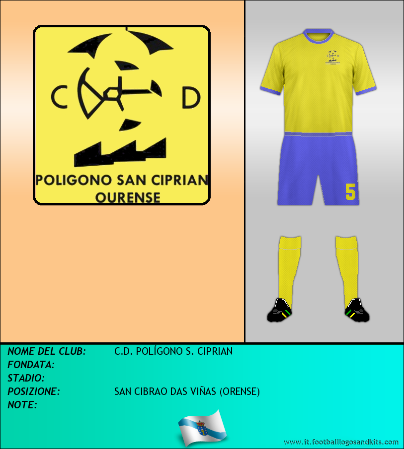 Logo di C.D. POLÍGONO S. CIPRIAN