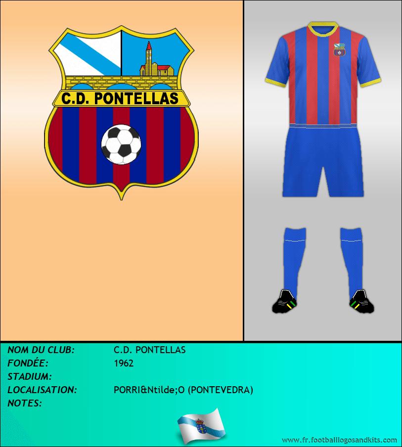 Logo de C.D. PONTELLAS