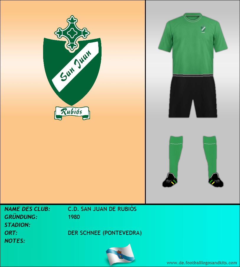 Logo C.D. SAN JUAN DE RUBIÓS