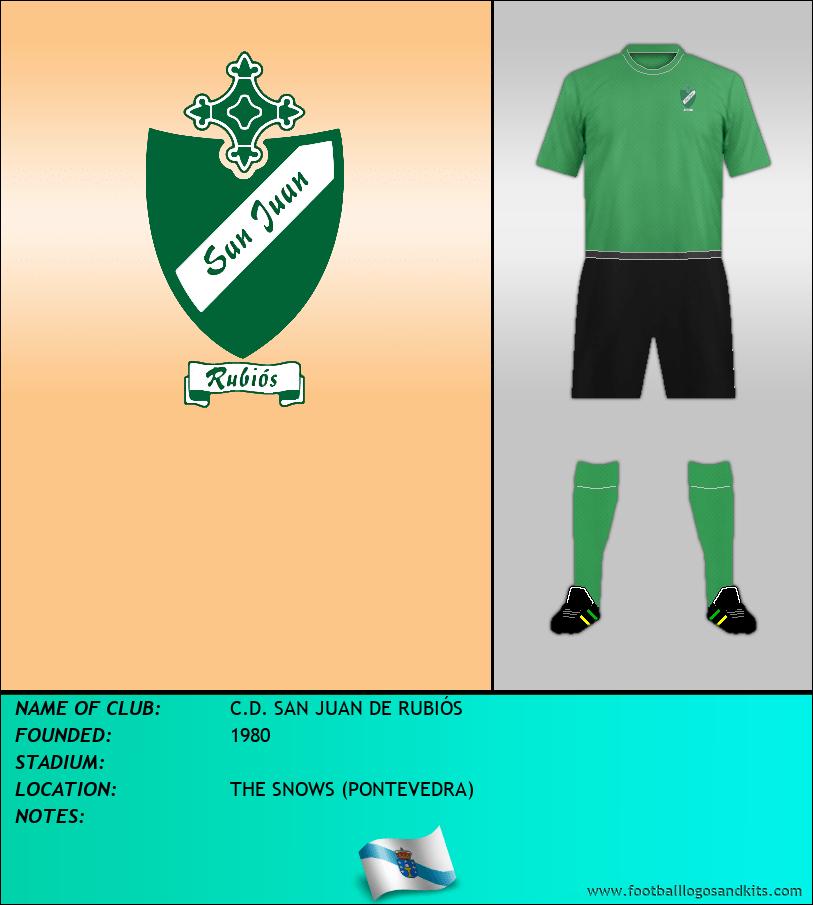 Logo of C.D. SAN JUAN DE RUBIÓS