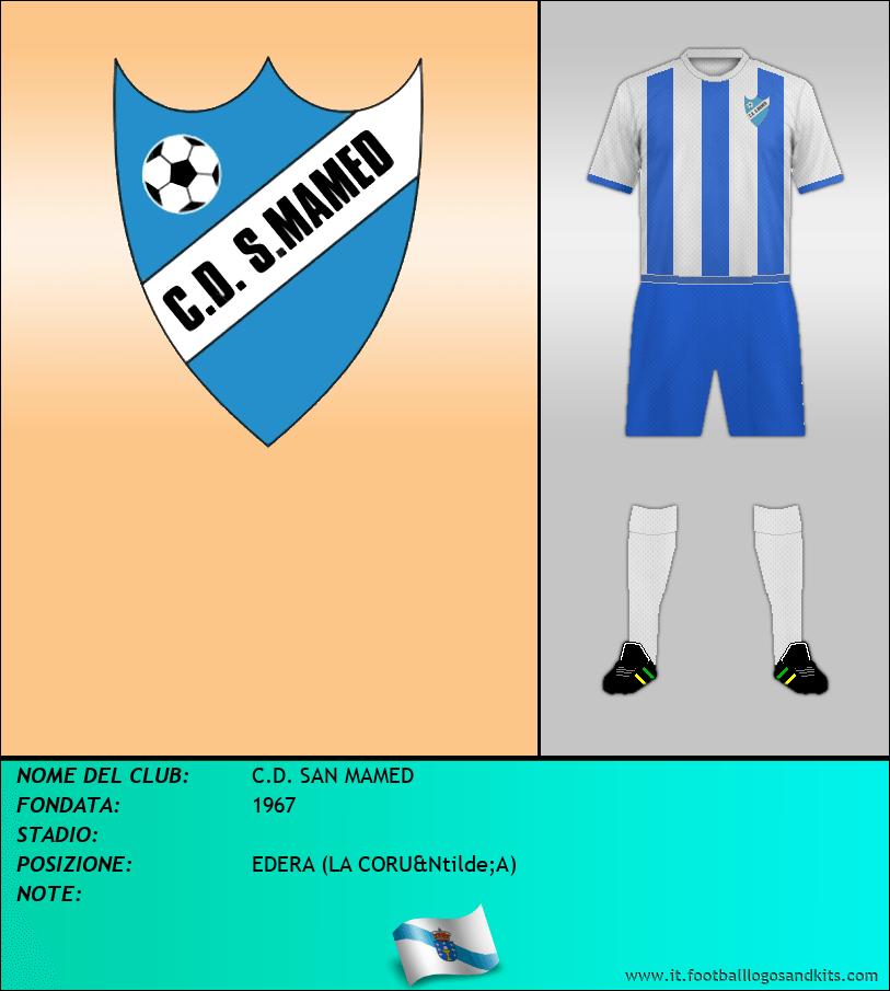 Logo di C.D. SAN MAMED