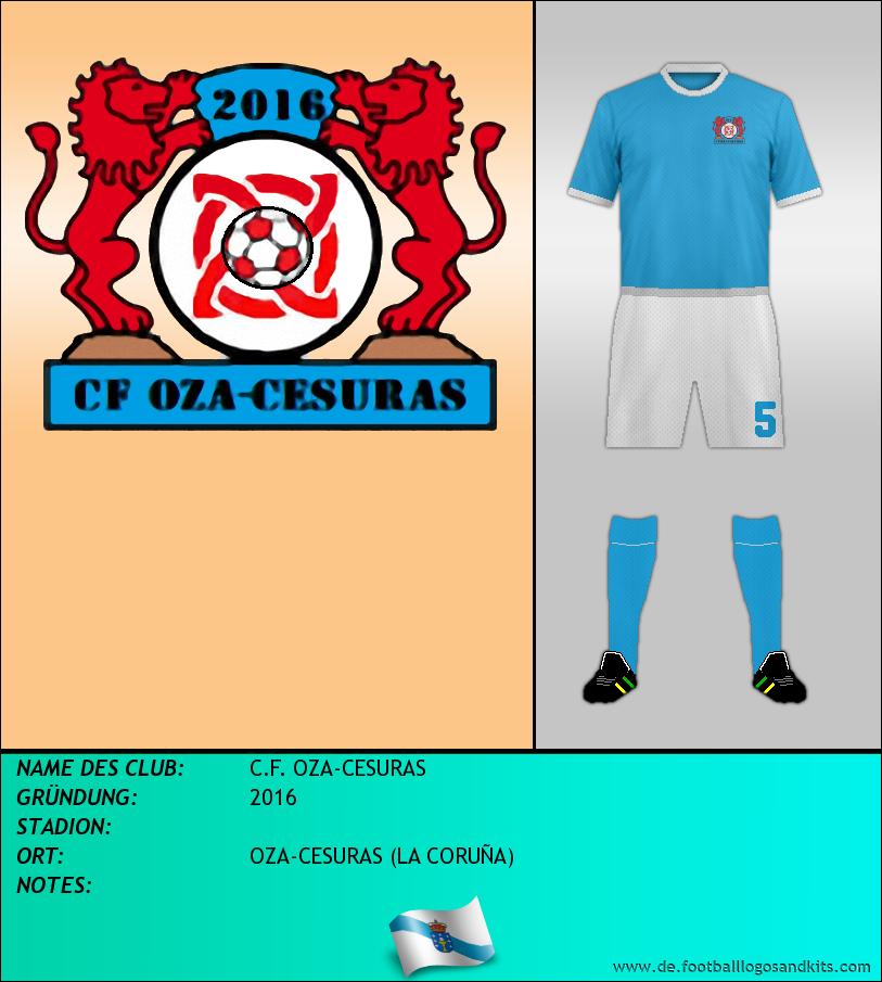 Logo C.F. OZA-CESURAS