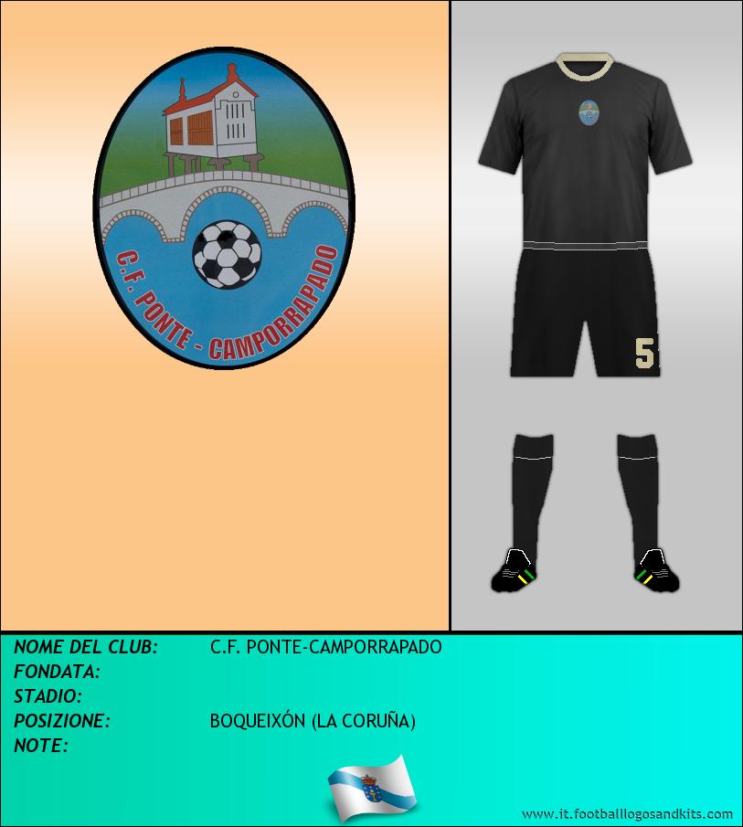 Logo di C.F. PONTE-CAMPORRAPADO