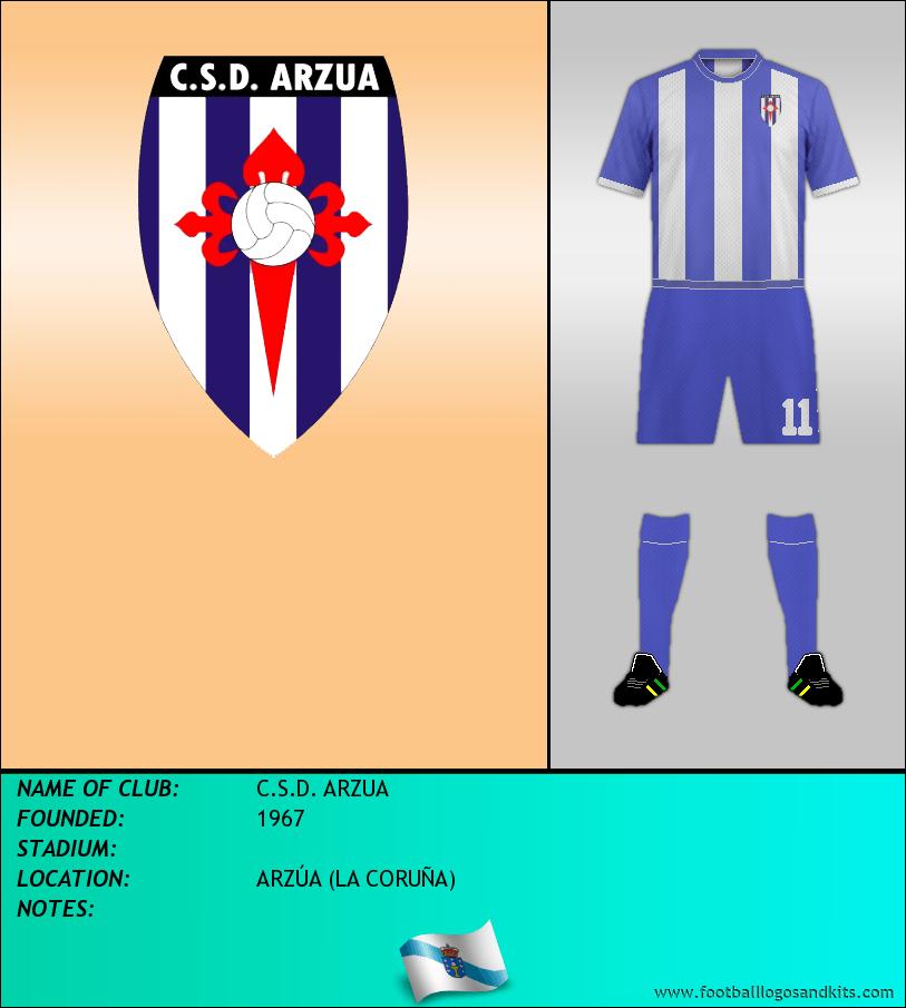 Logo of C.S.D. ARZUA