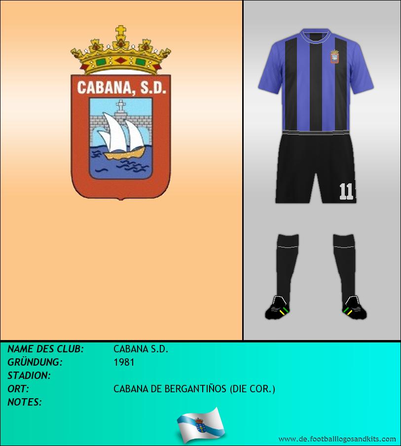 Logo CABANA S.D.