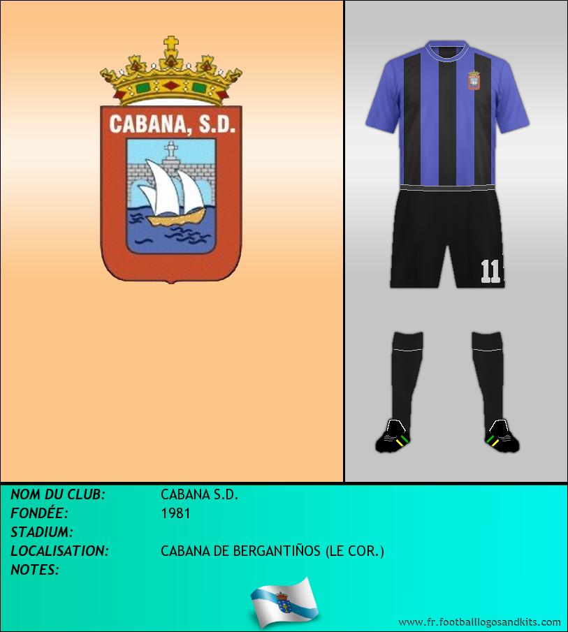 Logo de CABANA S.D.