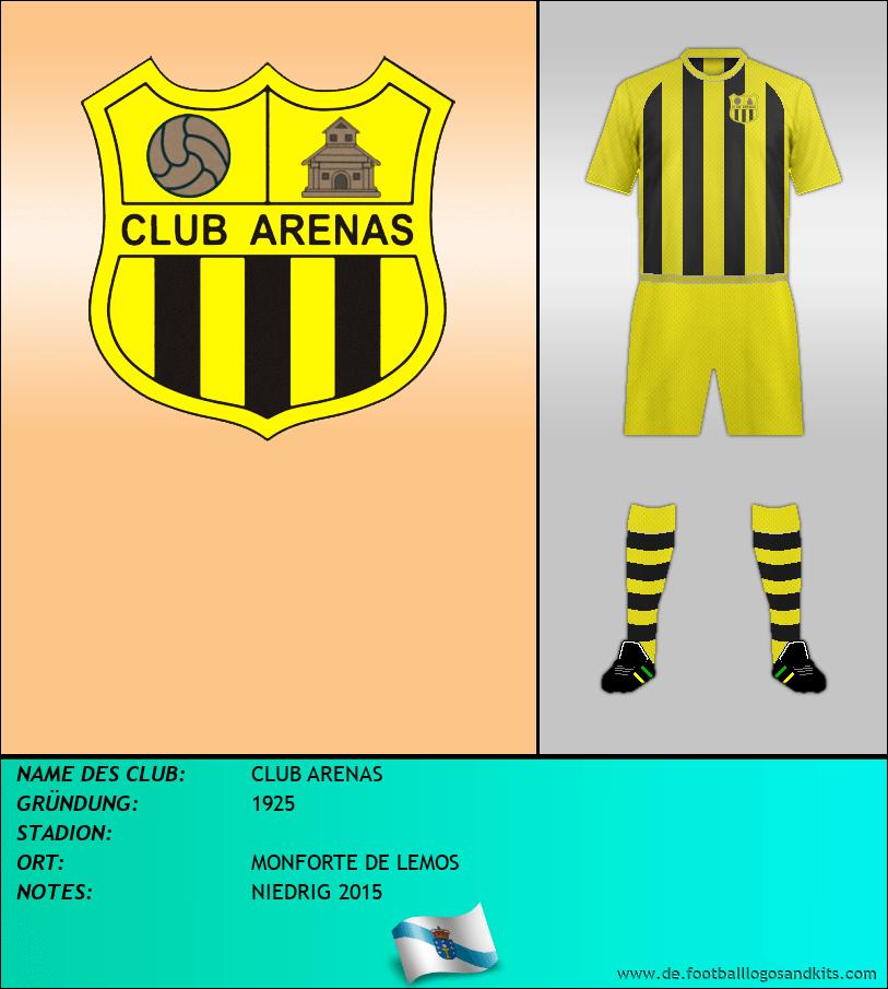 Logo CLUB ARENAS