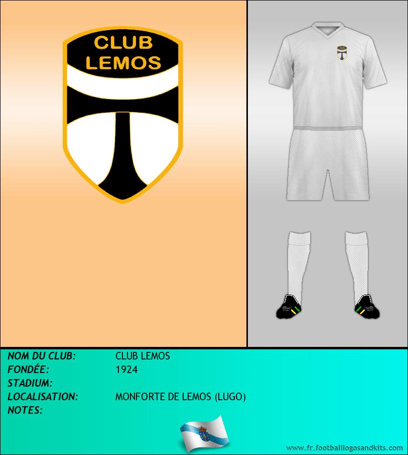 Logo de CLUB LEMOS