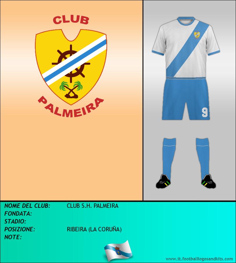 Logo di CLUB S.H. PALMEIRA