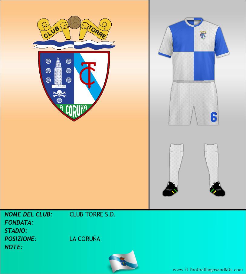 Logo di CLUB TORRE S.D.