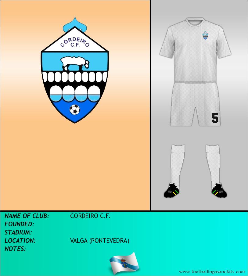 Logo of CORDEIRO C.F.