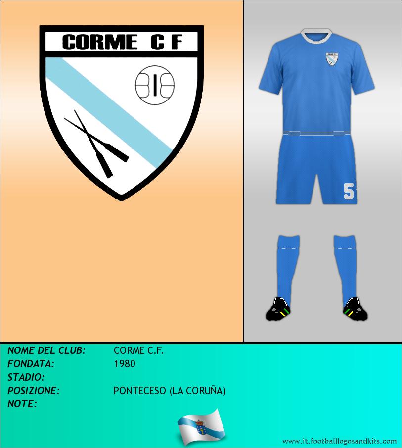 Logo di CORME C.F.