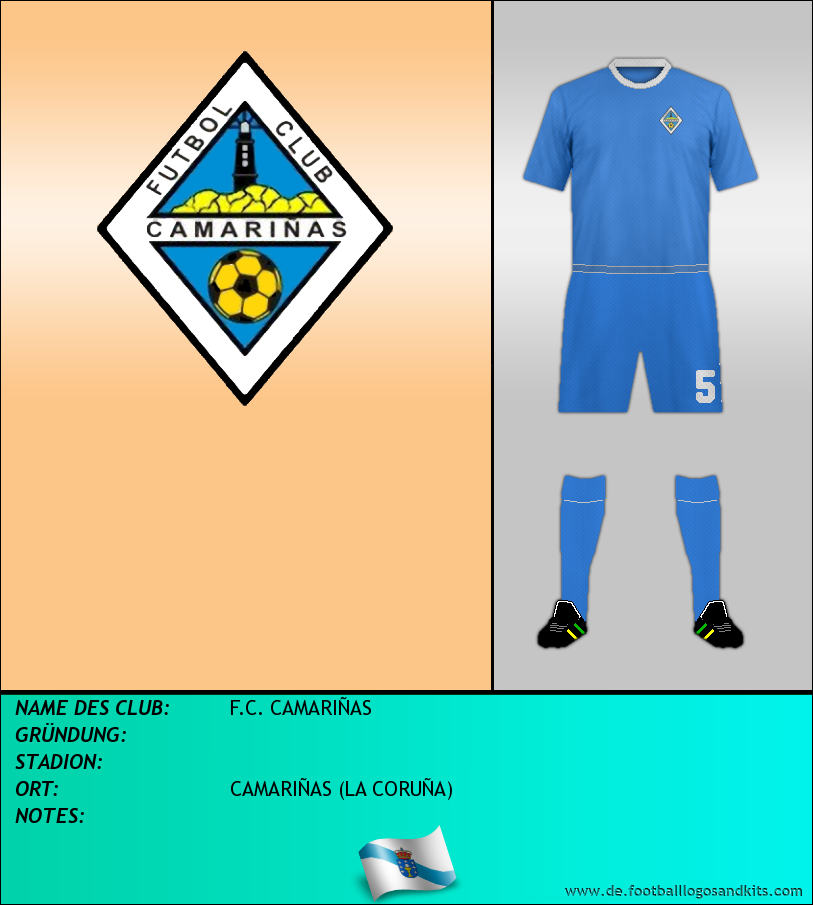 Logo F.C. CAMARIÑAS