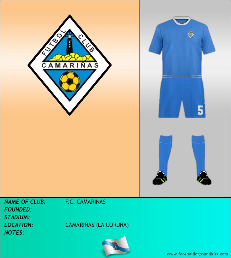 Logo of F.C. CAMARIÑAS