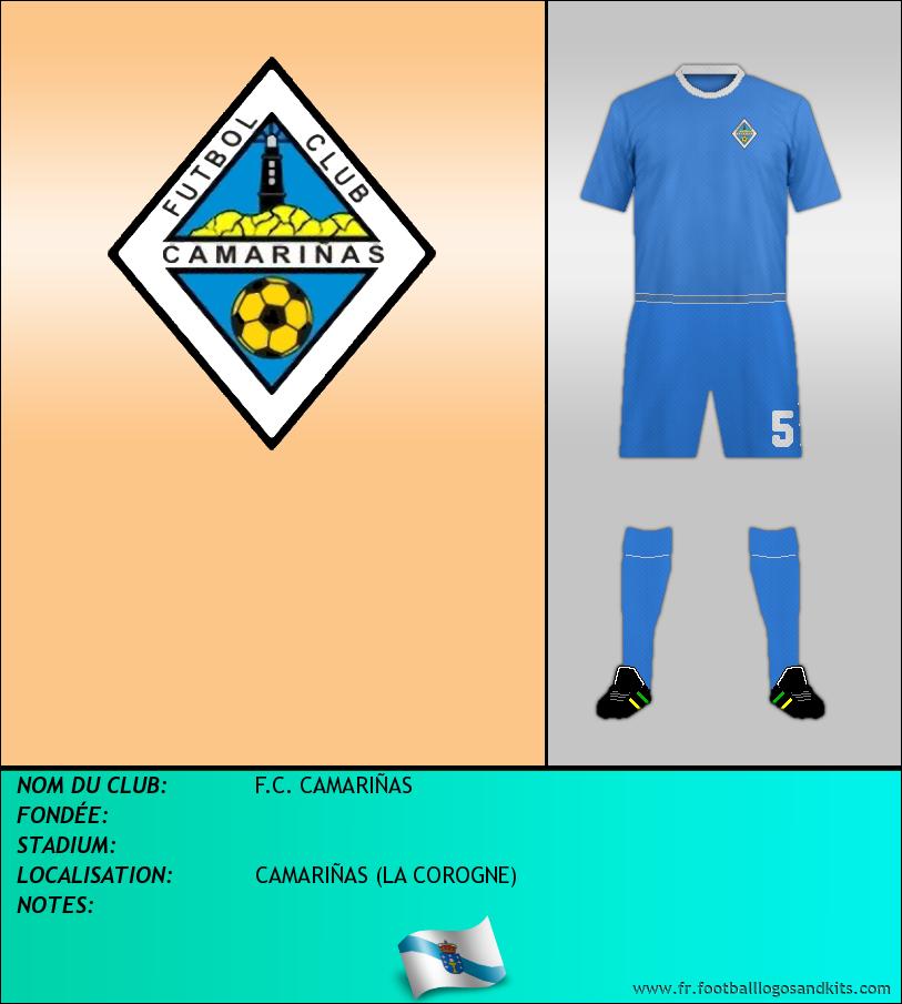 Logo de F.C. CAMARIÑAS