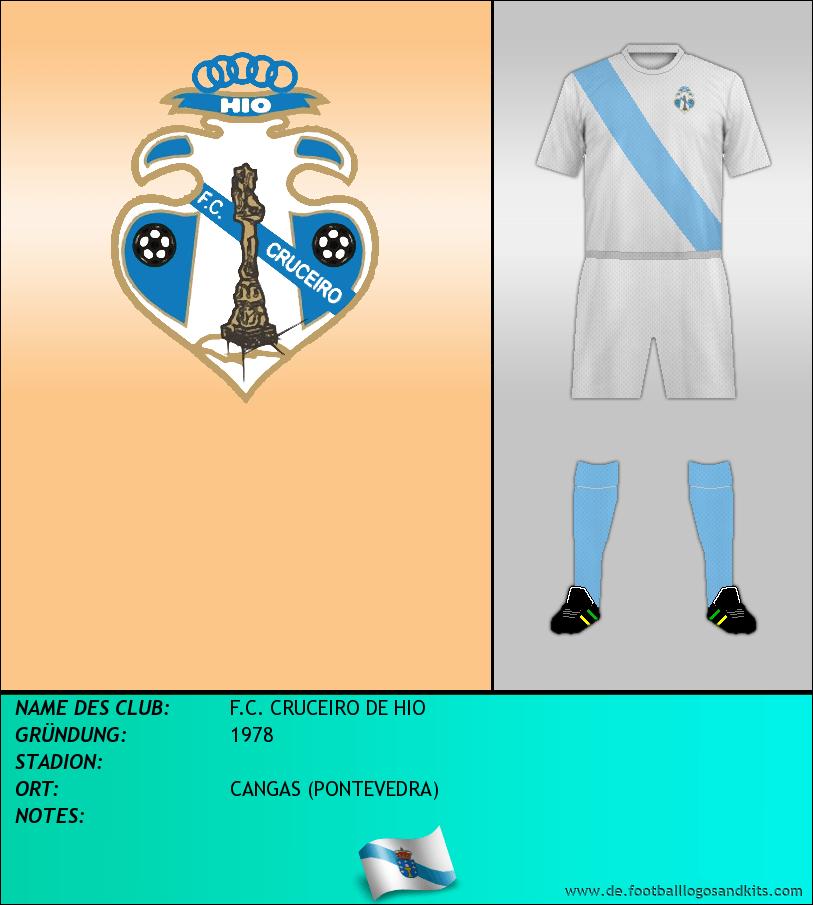 Logo F.C. CRUCEIRO DE HIO