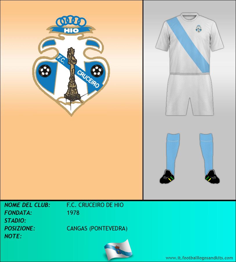 Logo di F.C. CRUCEIRO DE HIO