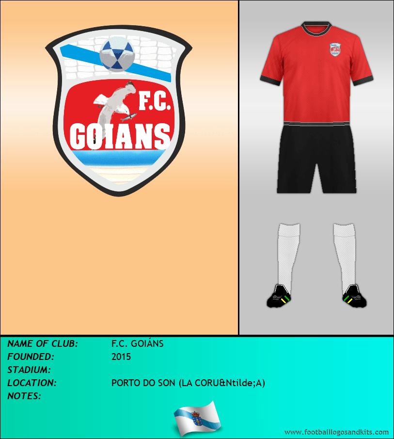 Logo of F.C. GOIÁNS