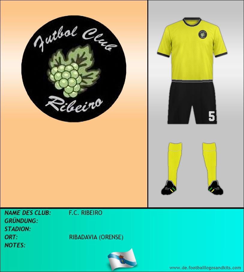 Logo F.C. RIBEIRO