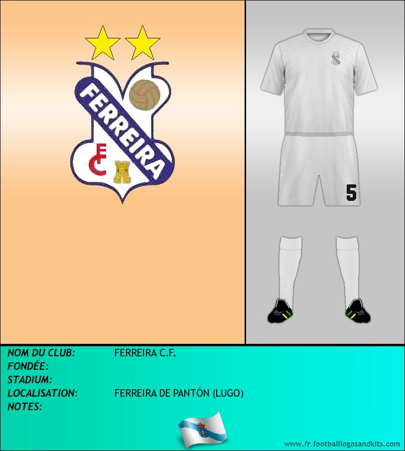 Logo de FERREIRA C.F.