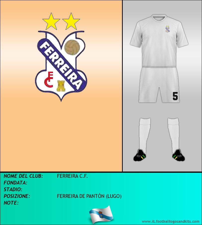 Logo di FERREIRA C.F.