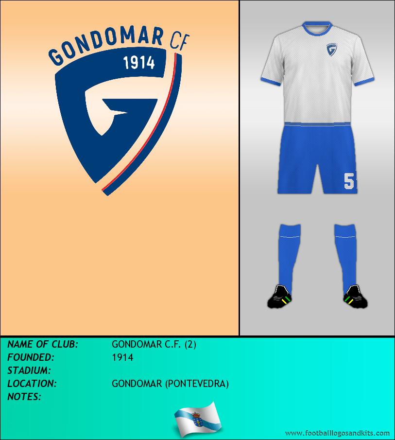 Logo of GONDOMAR C.F. (2)