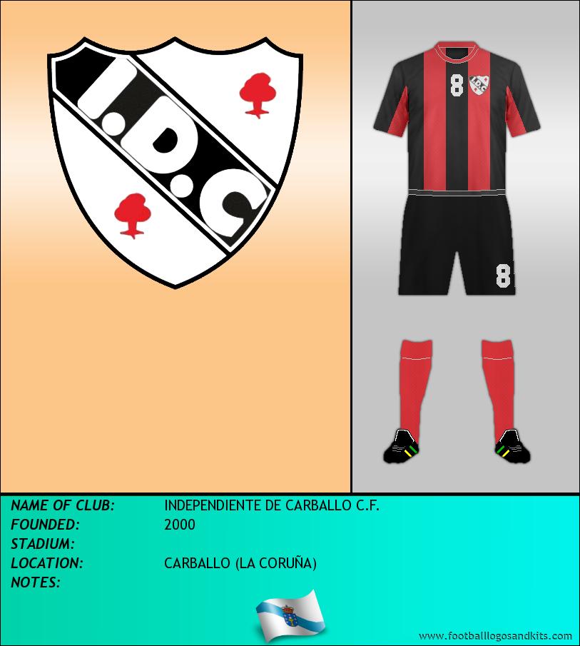Logo of INDEPENDIENTE DE CARBALLO C.F.