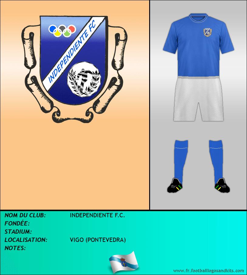 Logo de INDEPENDIENTE F.C.