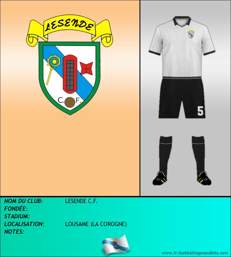 Logo de LESENDE C.F.
