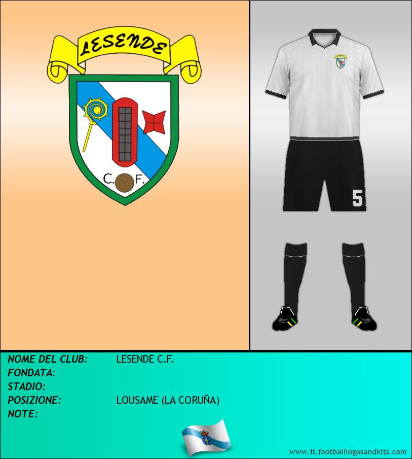 Logo di LESENDE C.F.