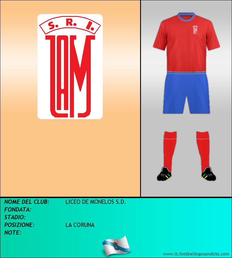 Logo di LICEO DE MONELOS S.D.