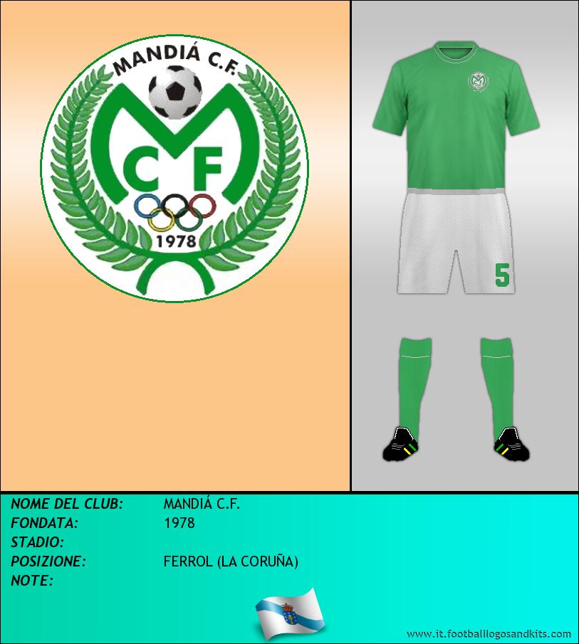 Logo di MANDIÁ C.F.