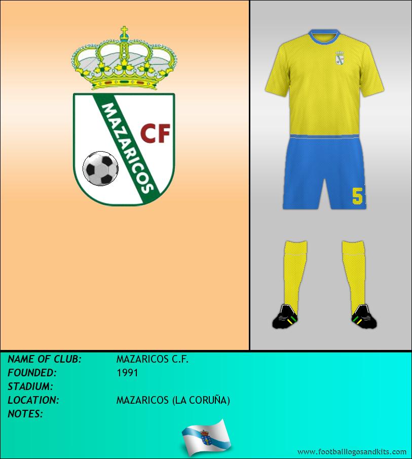 Logo of MAZARICOS C.F.