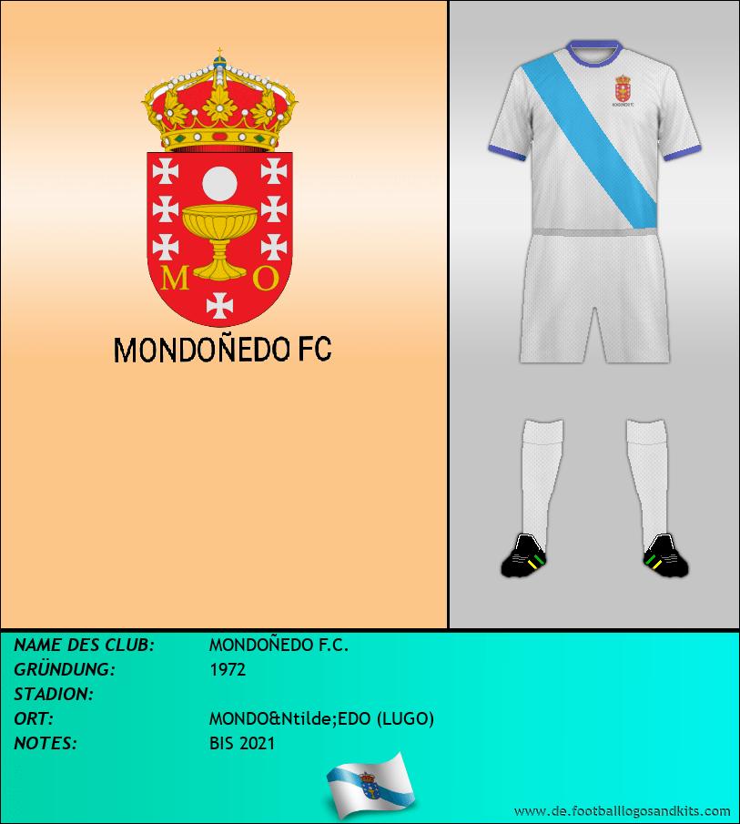 Logo MONDOÑEDO F.C.
