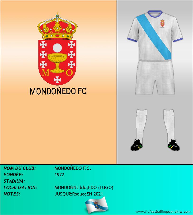 Logo de MONDOÑEDO F.C.