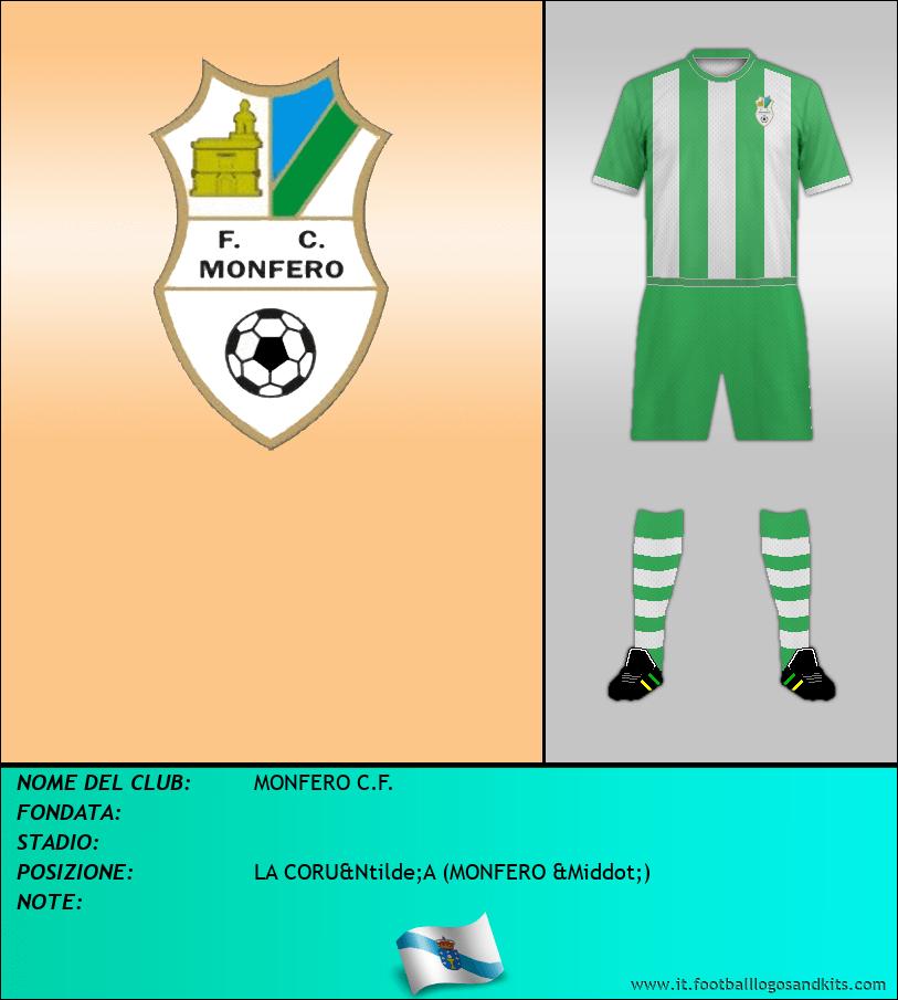 Logo di MONFERO C.F.