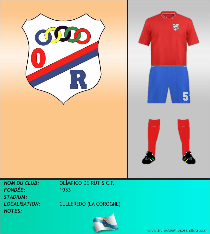 Logo de OLÍMPICO DE RUTIS C.F.