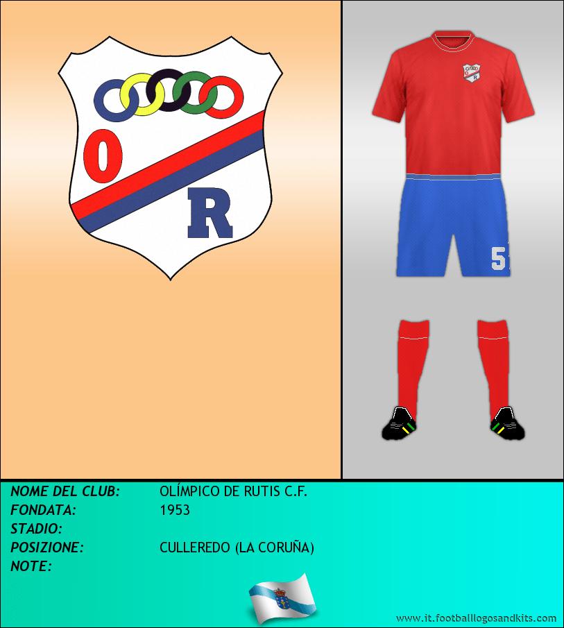 Logo di OLÍMPICO DE RUTIS C.F.