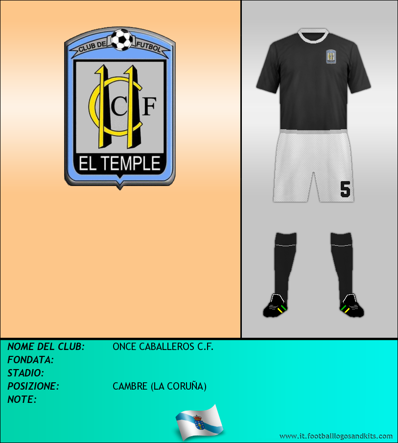Logo di ONCE CABALLEROS C.F.