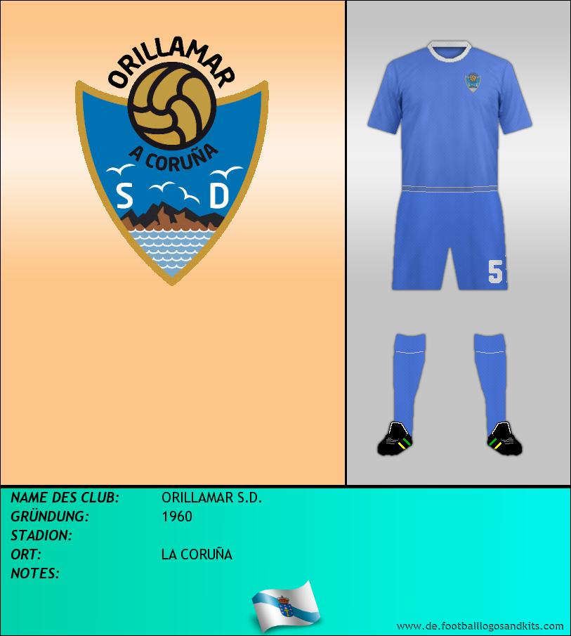 Logo ORILLAMAR S.D.