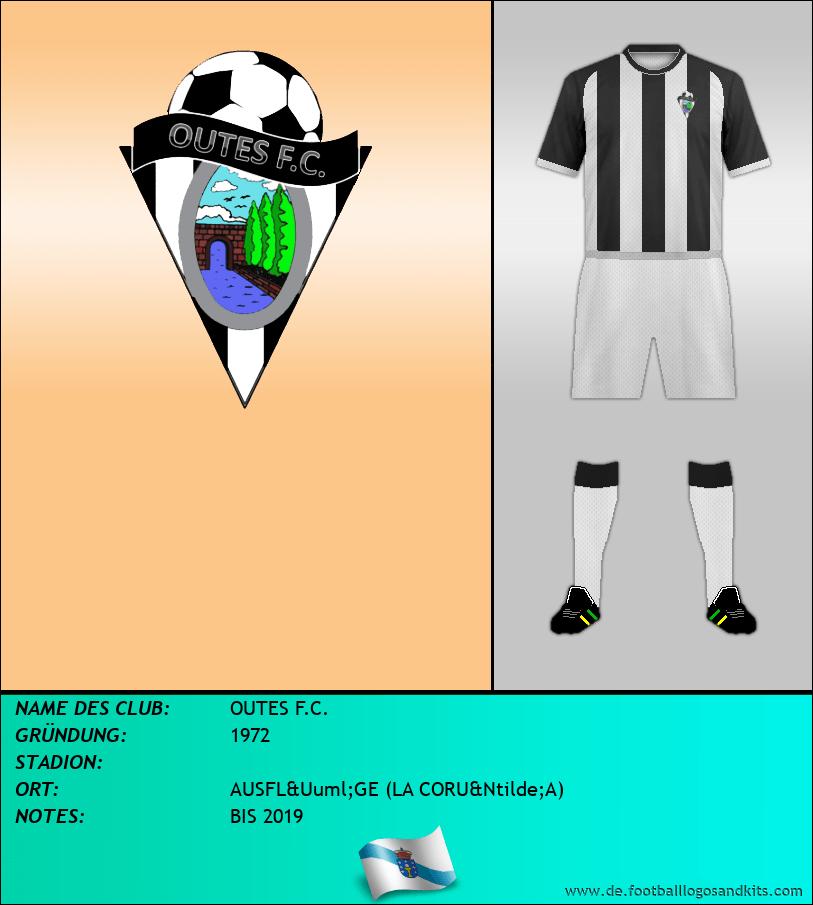 Logo OUTES F.C.