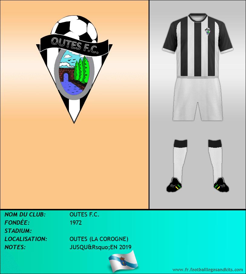 Logo de OUTES F.C.