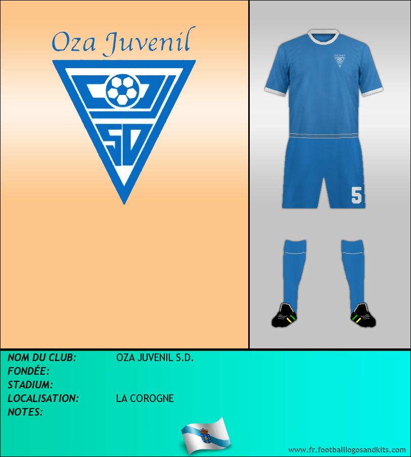 Logo de OZA JUVENIL S.D.