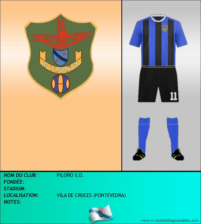 Logo de PILOÑO S.D.