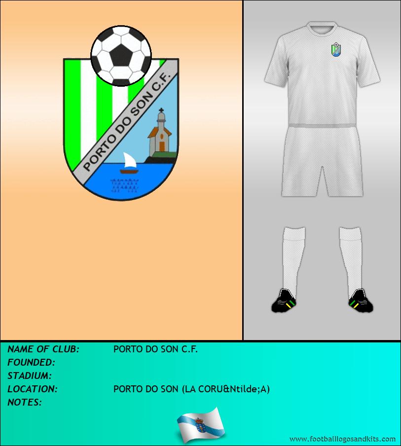 Logo of PORTO DO SON C.F.