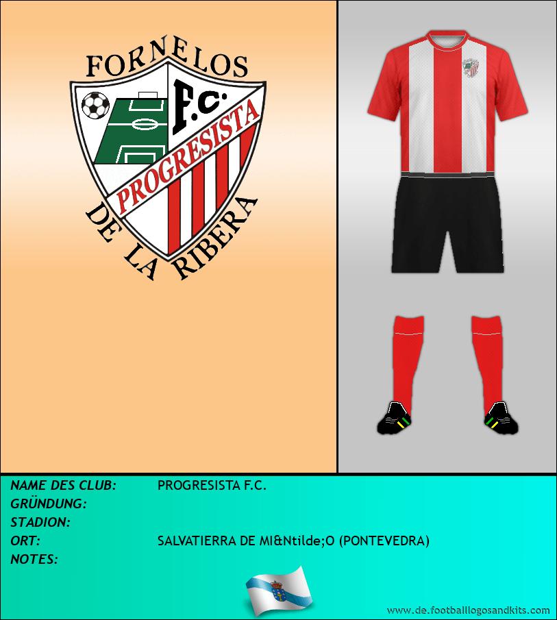 Logo PROGRESISTA F.C.