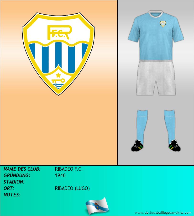 Logo RIBADEO F.C.