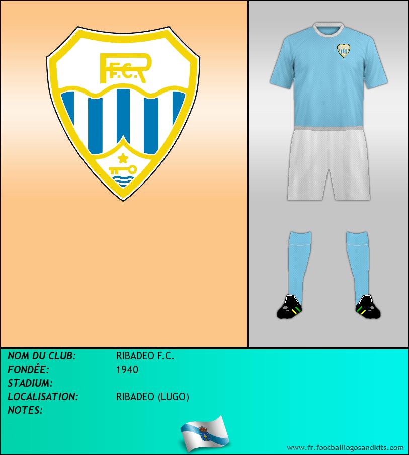 Logo de RIBADEO F.C.